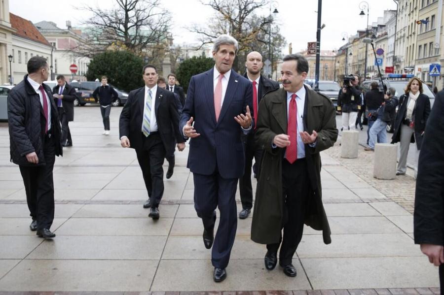 John Kerry w Warszawie