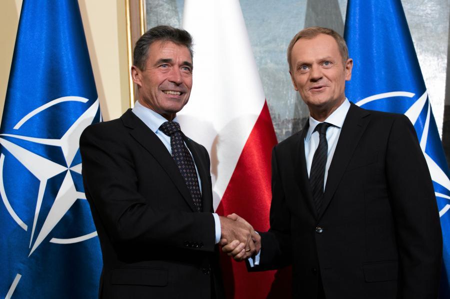 Anders Fogh Rasmussen i Donald Tusk