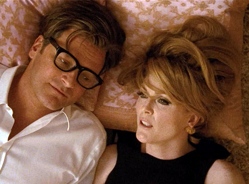 Colin Firth i Julianne Moore w filmie \