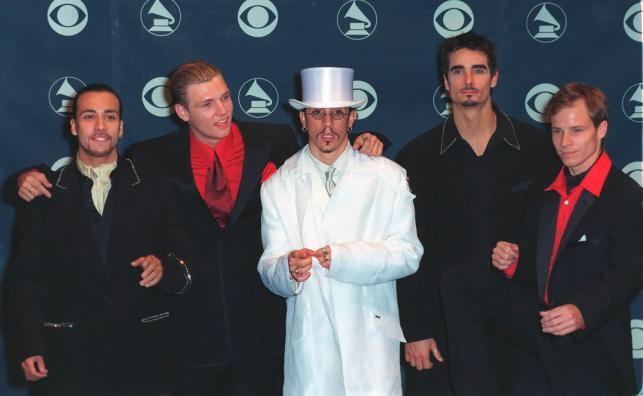 Backstreet Boys na gali Grammy w 1999 roku