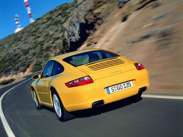 Porsche 911 carrera - zdjęcie poglądowe