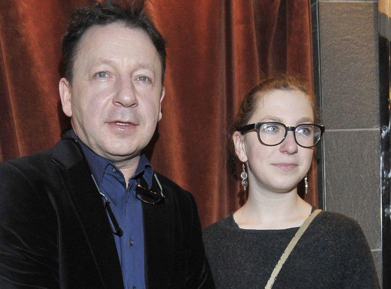 Zbigniew Zamachowski z córką