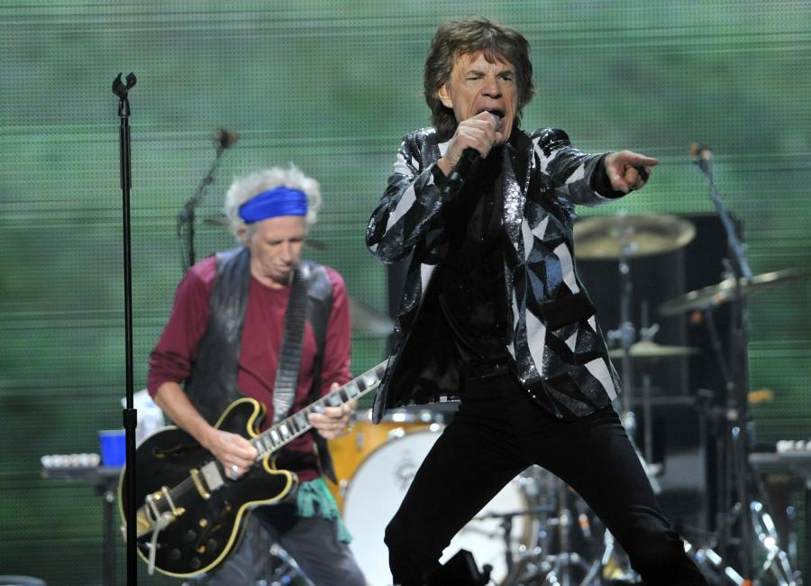 Mick Jagger i The Rolling Stones