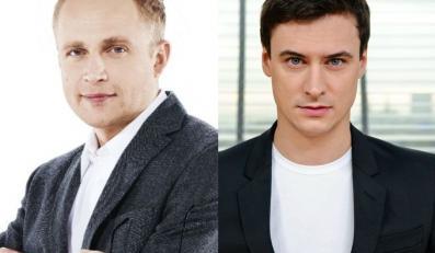 Piotr Adamczyk i Mateusz Damięcki