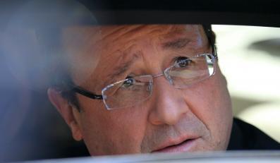Prezydent Francji Francois Hollande w Afryce