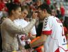 Marcin Lijewski z żoną