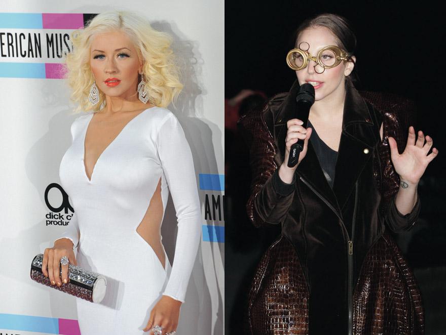 Lady GaGa w duecie z Christiną Aguilerą
