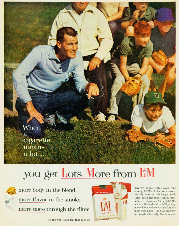 """Papierosy """"L&M"""" rok 1962"""