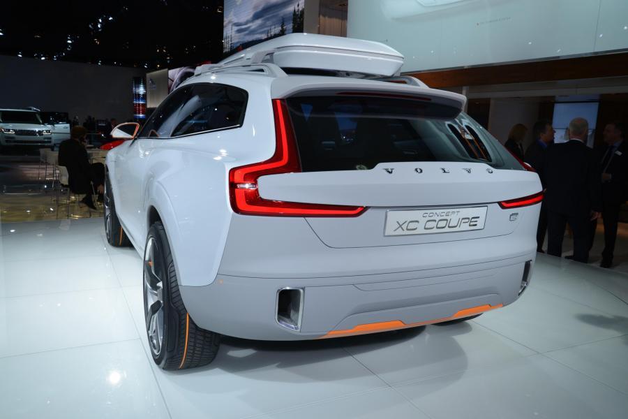 Volvo Concept XC Coupe - zwiastun nowego XC90