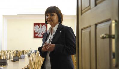 Minister pracy Jolanta Fedak