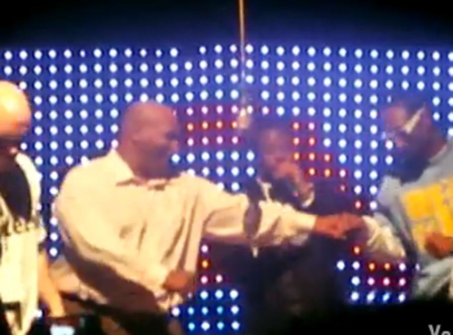 Mike Tyson pobity przez słynnego rapera