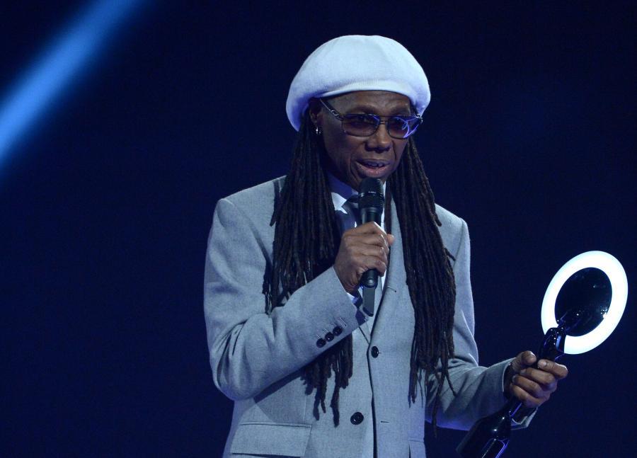 Najlepsza grupa- świat: Daft Punk (nagrodę odebrał Nile Rodgers)