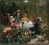 W altanie, 1882, olej, płótno, 137 x 148 cm, MNW