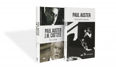 Paul Auster i J.M. Coetzee, Tu i teraz, Listy 2008–2011, Fot. Wojciech Karliński