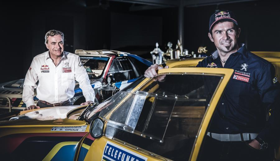 Carlos Sainz i Cyril Despres