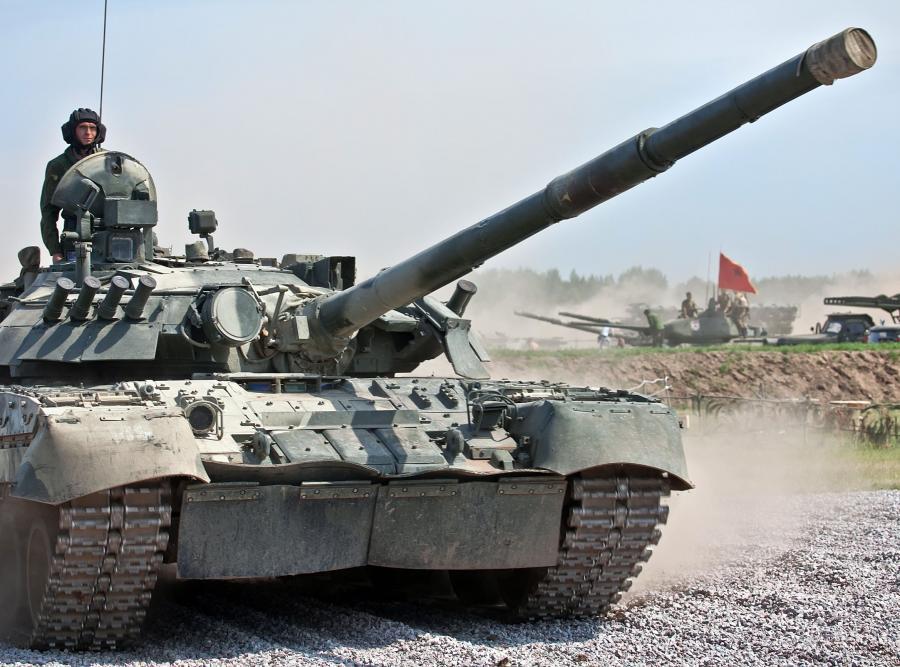 Rosyjski czołg. Rosja, poligon