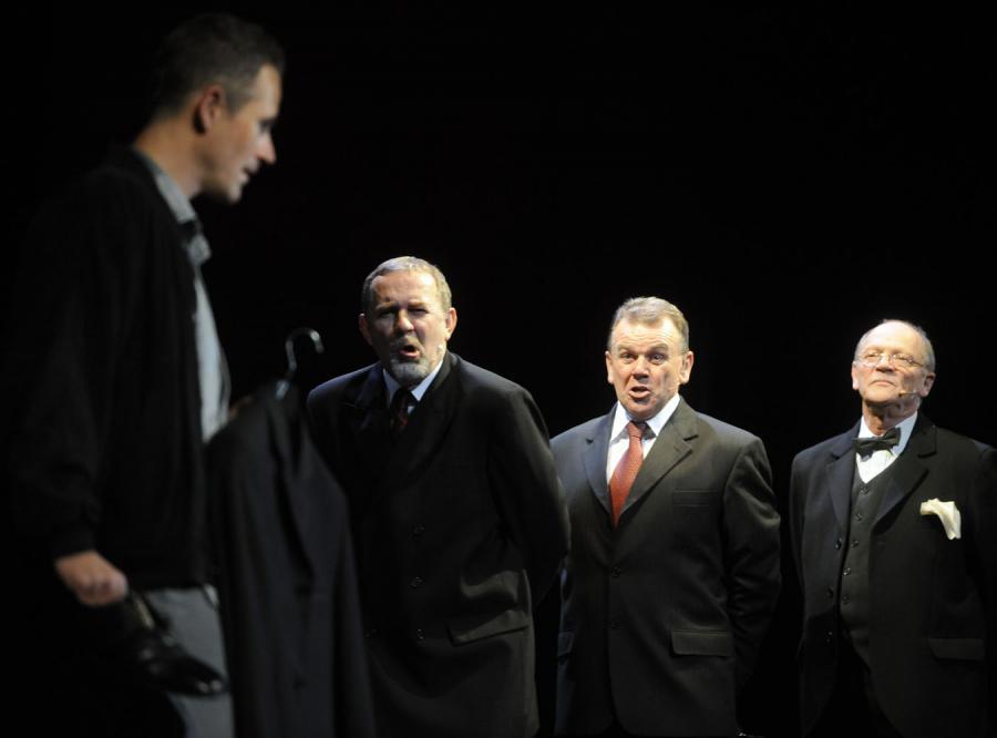 Przedstawienie Krzysztofa Babickiego w Teatrze Słowackiego jest powrotem w najlepszym stylu