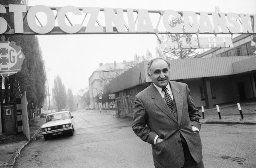 Mieczysław Wilczek - były minister przemysłu w rządzie Rakowskiego