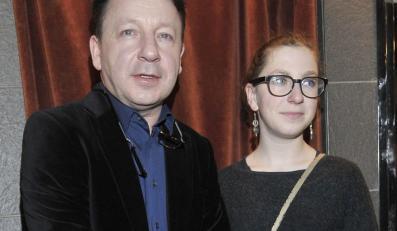 Zbigniew Zamachowski z córką Marią