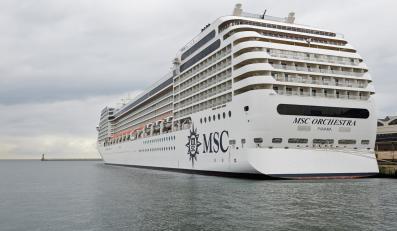 MSC Orchestra zawinął do portu w Gdyni
