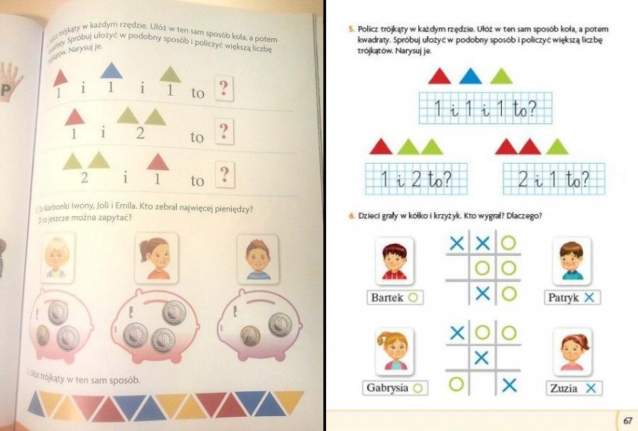 """""""Nasz Elementarz"""" - podręcznik w wersji wstępnej i ostatecznej"""