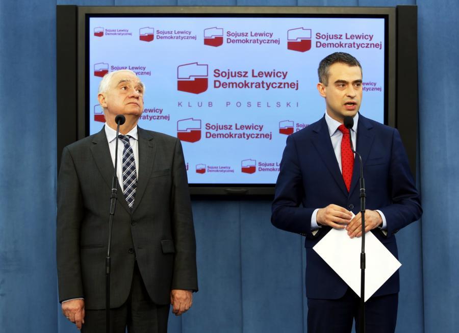 Janusz Zemke i Krzysztof Gawkowski z SLD