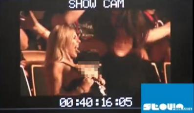 Doda pokazała piersi na koncercie Aerosmith