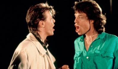 "Mick Jagger i David Bowie w klipie do ""Dancing in the Street"""