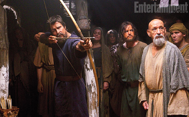 Christian Bale jako zupełnie inny Mojżesz w \