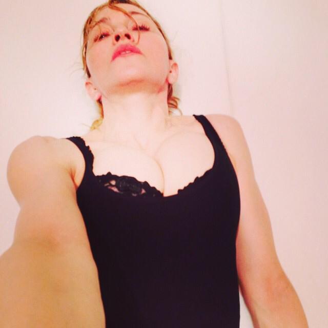 "Madonna i jej seksowne ""selfie"""