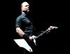 James Hetfield podczas koncertu na Stadionie Narodowym