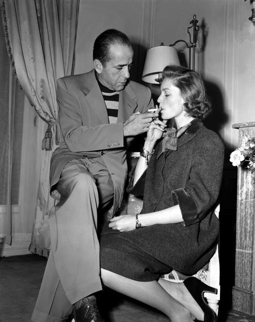 Lauren Bacall i Humphrey Bogart w 1951 roku