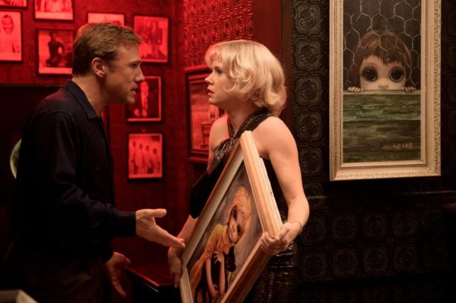 Christoph Waltz wykorzystuje Amy Adams