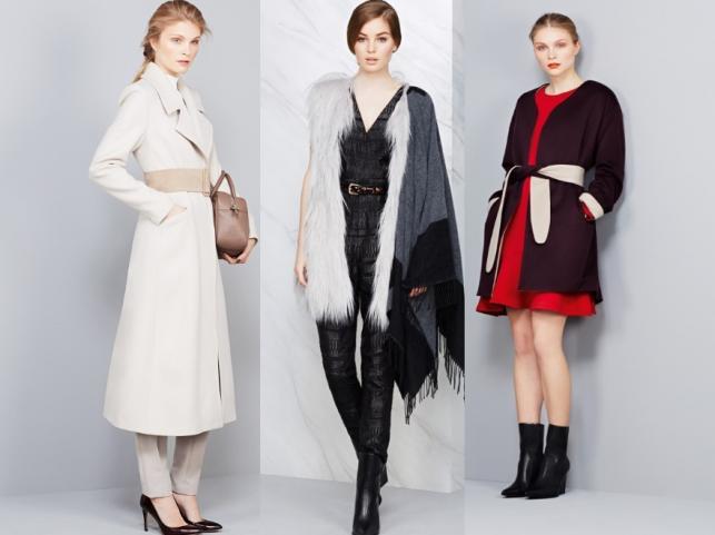 4b4936127b66 Ubrania podkreślające talię z kolekcji Marks   Spencer jesień zima 2014 2015