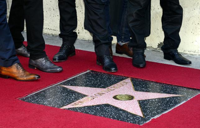 New Kids on the Block uhonorowani gwiazdąna Hollywood Walk of Fame