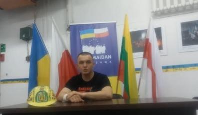 Kadr z filmu nagranego przez Tomasza Maciejczuka
