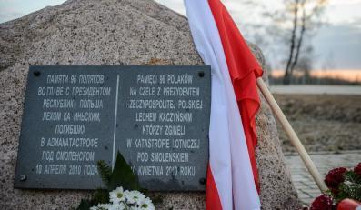 Miejscy katastrofy samolotu prezydenckiego Tu-154M w Smoleńsku