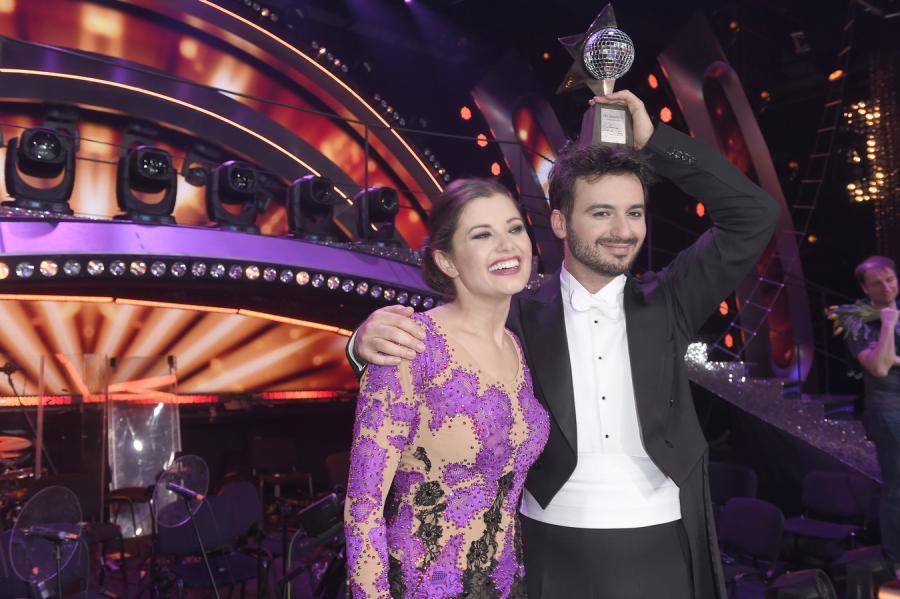 Agnieszka Sienkiewicz i Stefano Terrazzino w finale \