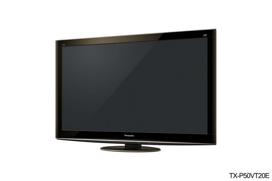 Trójwymiarowy telewizor od Panasonica