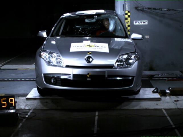 Renault laguna - pięć gwiazdek