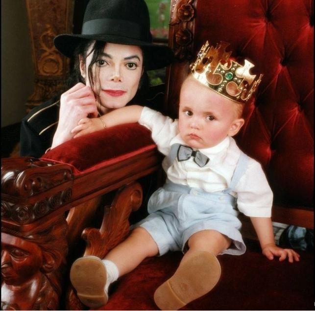 Prince Jackson z legendarnym tatą Michaelem