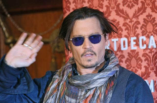 Johnny Depp w Berlinie