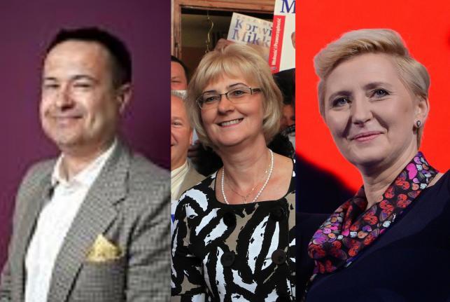 Wybory prezydenckie - partnerzy kandydatów