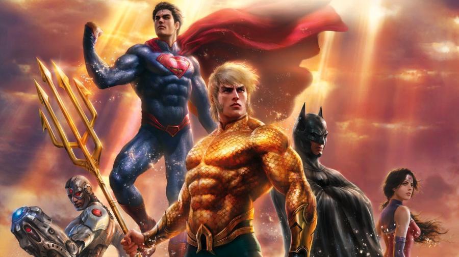 Liga Sprawiedliwości: Tron Atlantydy