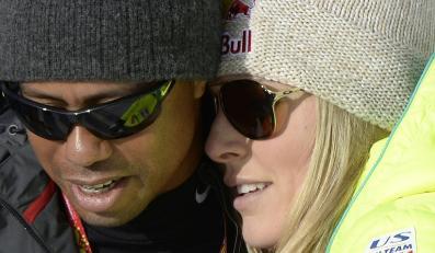 Miłość Tigera Woodsa i Lindsey Vonn nadal kwitnie