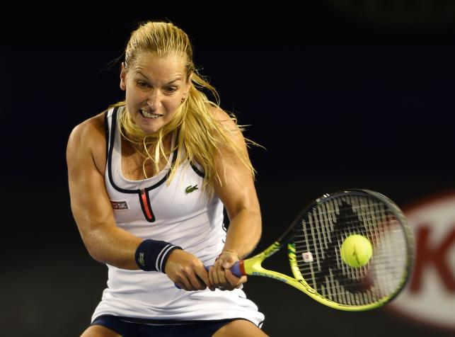 Tenisistki bicepsy mają prawie tak wielkie, jak Marit Bjoergen