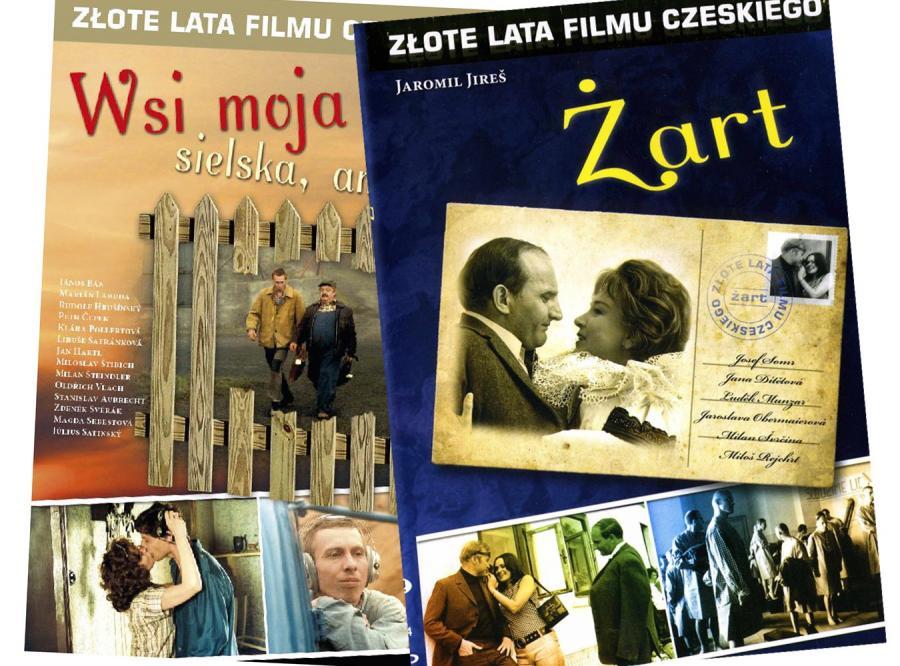 Złote lata filmu czeskiego na DVD