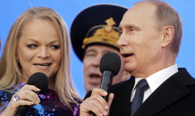 Wielki koncert na Placu Czerwonym. Nawet Putin zaśpiewał... ZDJĘCIA