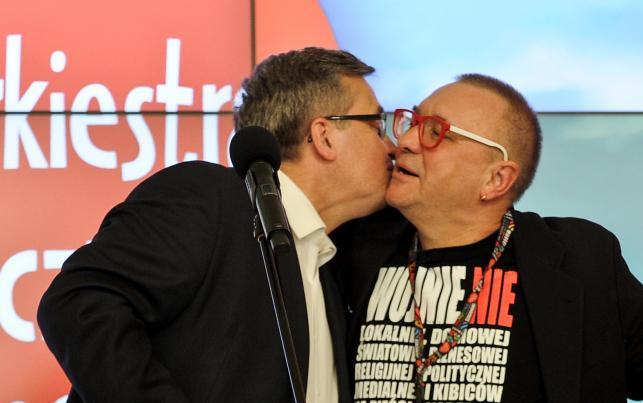 Bronisław Komorowski i Jerzy Owsiak