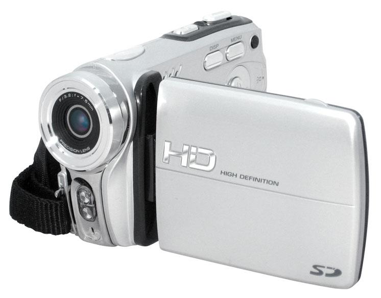 Tanie w HD nagrywanie - poręczna kamera na karty